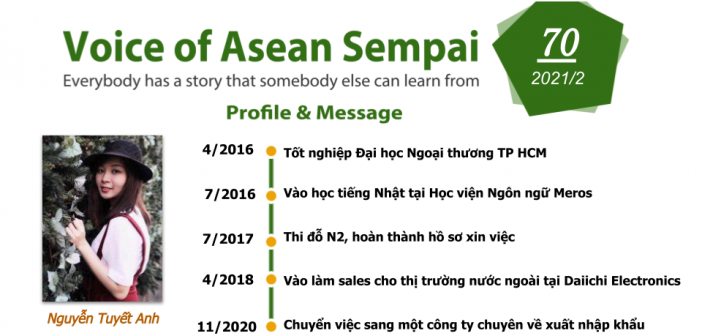 Voice of Asean Sempai (Vol 70)