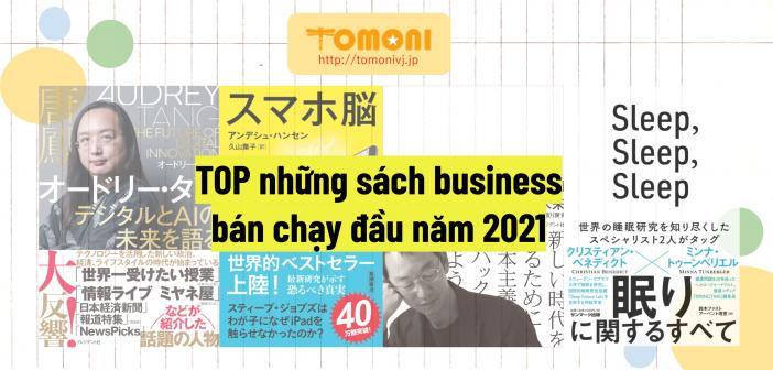 TOP những sách business bán chạy đầu năm 2021